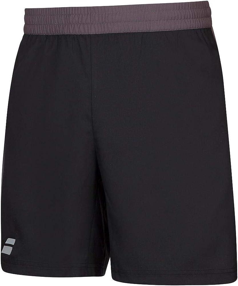 Babolat Boy's Play Tennis Shorts, Black/Black (US Youth Size 8-10)