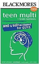 Blackmores Teen Multi + Brain Nutrients for Guys 60 Capsules