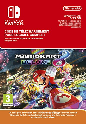 Mario Kart 8 Deluxe [Nintendo Switch - Version digitale/code]