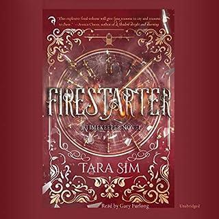 Firestarter audiobook cover art