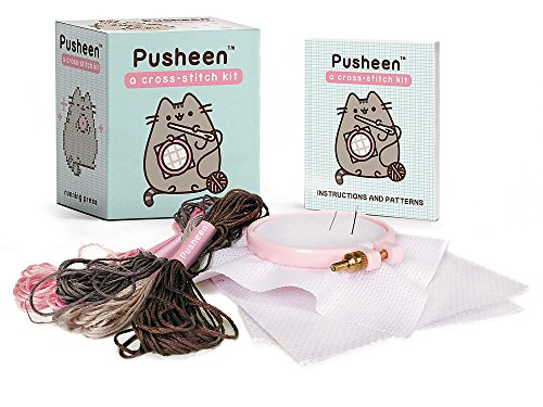 Pusheen: A Cross-Stitch Kit (RP Minis)