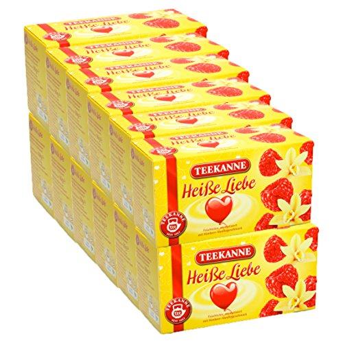 Teekanne Heiße Liebe 12er Pack