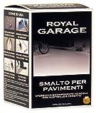 Brava RGZC7 Royal Garage Smalto per Pavimenti Epossidico all'Acqua, Grigio Chiaro, 750 ml