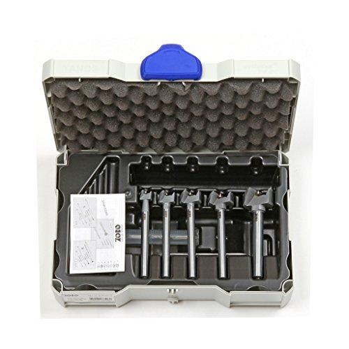 5x Zobo WD C S2 Bohrerset 15 - 35 mm aus Chromstahl ohne Verlängerung
