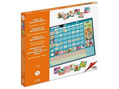Cayro - Tabla de recompensa- Planificador de tareas - Planificador de Pared - Desarrollo de Habilidades organizativas y autonomía - Educación para niños (877)