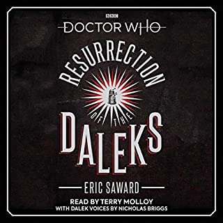 Doctor Who: Resurrection of the Daleks audiobook cover art