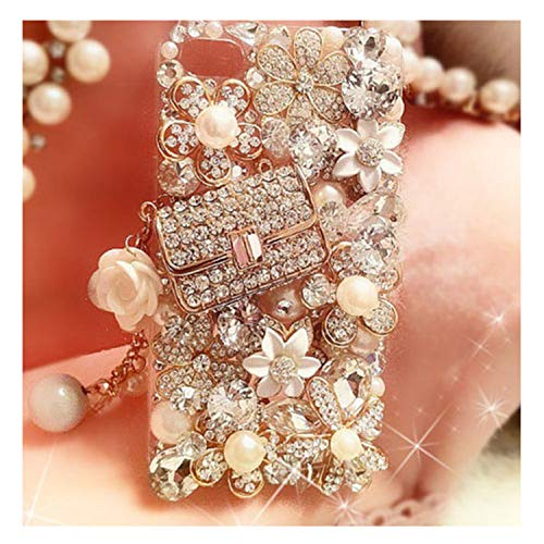 3D Handmade Luxury Bling Jewelled Rhinestone Diamond Crystal Hard Case Cover For iPhone 7Plus 5/5S/6/6S/6Plus X S XR MAX 4 For iPhone 6 Plus