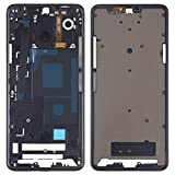 Dmtrab for Placa de Bisel de Marco LCD de la Carcasa Delantera para LG G7 Thinq / G710 Accesorios para telefono Celular (Color : Black)