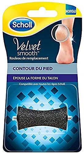 SCHOLL Velvet Smooth Rouleau de Remplacement Contour Pied - 1 recharge