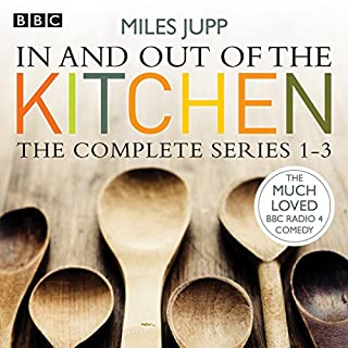 In and Out of the Kitchen, Series 1, 2, and 3 cover art