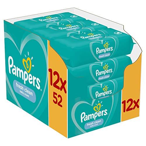 Pampers 81688057 - Fresh clean toallitas húmedas, unisex