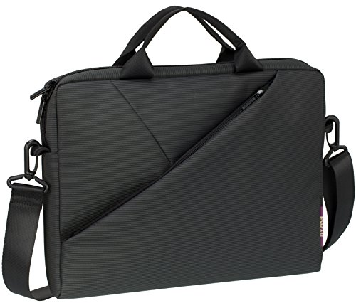 Rivacase 8720 maletin para portátil 33.8 cm (13.3') Maletín Gris - Funda (Maletín, 33.8 cm (13.3'), 390 g, Gris)