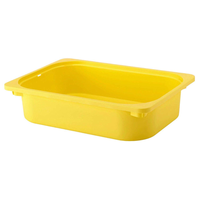 IKEA TROFAST - Caja de almacenamiento, color amarillo: Amazon.es: Bricolaje y herramientas