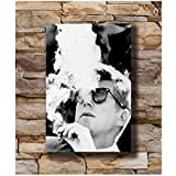 Posters John F Kennedy Rauchen Amerikanischer Präsident