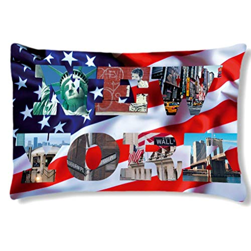 Coussin rectangulaire Usa by Cbkreation