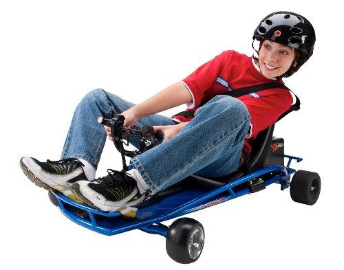 Razor Ground Force Drifter Kart - Blue, 40.25 x 11.75 x 28.5