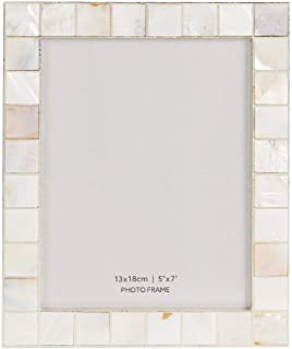 Happy Homewares Ivory/Cream Mother of Pearl Shell Mosaic Inlay 5