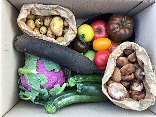 Le panier de la semaine : coffret de 5 légumes différents (voir composition et livraison ci dessous)