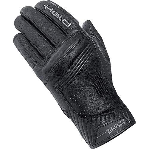 Held Motorradhandschuhe kurz Motorrad Handschuh Rodney Handschuh schwarz 12, Herren, Sportler, Ganzjährig, Leder