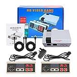 LINGSFIRE Mini consola de juegos retro Consola de juegos para niños con 2 controladores inalámbricos, salida de TV HDMI Consola de juegos clásica de video incorporada 600 juegos para jugadores de TV