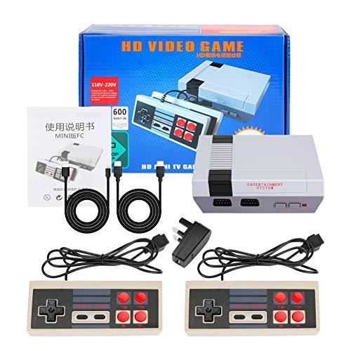 LINGSFIRE Mini consola de juegos retro Consola de juegos para niños con...