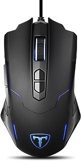 VicTsing Gaming Mouse, Ratón para Gaming Alto Rendimiento, Professional Programable Ratón, Hasta 7200 DPI Ajustable, Ratón...