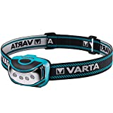 varta torcia da testa outdoor, nero/blu, 4 led