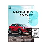 OEM GPS Navigation SD Card BDGF66EZ1 2020 for North America/Canada/Mexico Navi Card BDGF-66-EZ1 2019-2020 Mazda 3 and Mazda CX30 with Mazda Connect 2