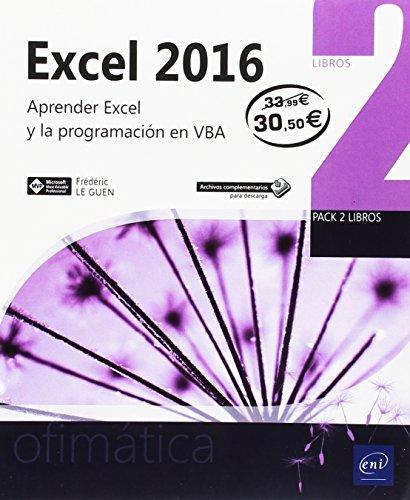 Excel 2016. Aprender Excel y la programación en VBA - Pack de 2 libros
