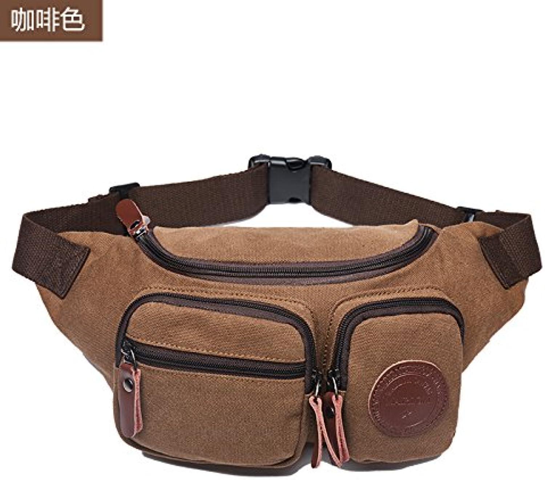 EWULIN Multifunktionale Tasche für Männer Umhängetasche Umhängetasche Sporttasche Brusttasche lässige Canvas Tasche B07Q9Z2172