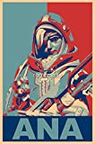 PrimePoster - Overwatch Ana Poster Glossy Finish Made in USA - YEXT660 (24' x 36' (61cm x 91.5cm))