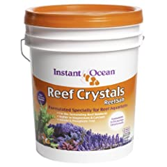 FORMULATED SPECIFICALLY FOR REEF aquariumS: Contains essential ocean reef elements in concentrations greater than those found in natural sea waterEXTRA CALCIUM: Encourages stony coral and coralline algae growth. EXTRA TRACE ELEMENTS: Provides vital n...