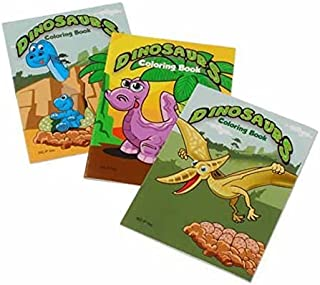 U.S. Toy Mini Dinosaur Coloring Books (2-Pack of 12)