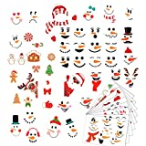 Sayala 9 Pegatina de Navidad,Navidad la Decoración del Hogar de Vinilo Ventana Pegatinas de Pared Perfecto para Decorar Las Ventanas de Tienda Cafetería Casa