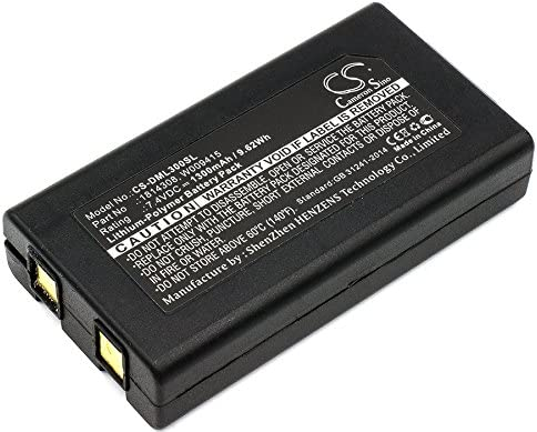 1300mAh Manufacturer OFFicial shop 7.4V Battery Replacement for 300 Baltimore Mall XTL LabelManager W DYMO