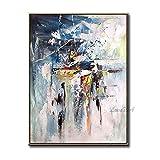 ZNYB Cuadro Lienzo Decoracion 100% Pintura al óleo Pintada a Mano Arte Abstracto de la Lona de la Pared Pinturas de Pared Baratas Arte artículos para el hogar Arte de la Pared Piezas de decoración