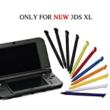 Stylus Pen for NEW 3DS XL, Pack of 11 Colorful Plastic Replacement Touch Screen Stylus Pens Set Only for Nintendo New 3DS XL and New 3DS LL by YTTL
