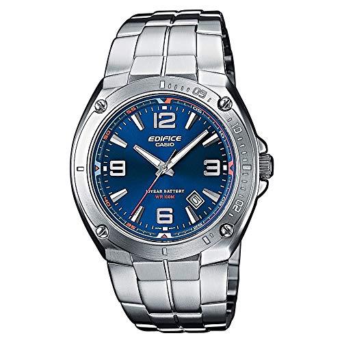 Casio Edifice Herren Massives Edelstahlgehäuse und Edelstahlarmband Uhrenarmband EF-126D-2AVEF