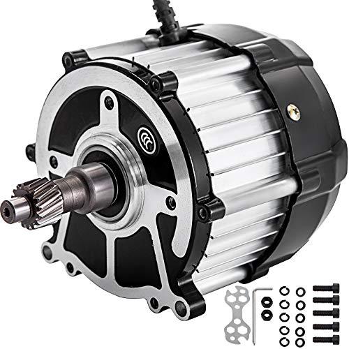 VEVOR Motor de Velocidad Diferencial Motor Eléctrico de Triciclo 48V-60V Motor Eléctrico 650W Perfecto para Scooter Eléctrico, Bicicleta Eléctrica, Bicicleta Eléctrica y Scooter Electrónico Etc.