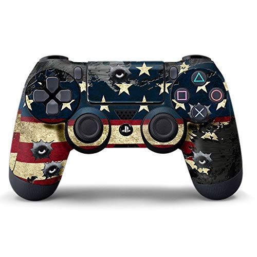 Sololife PS4 Controller Skin Stickers for Sony PlayStation 4 DualShock Wireless Controller -...