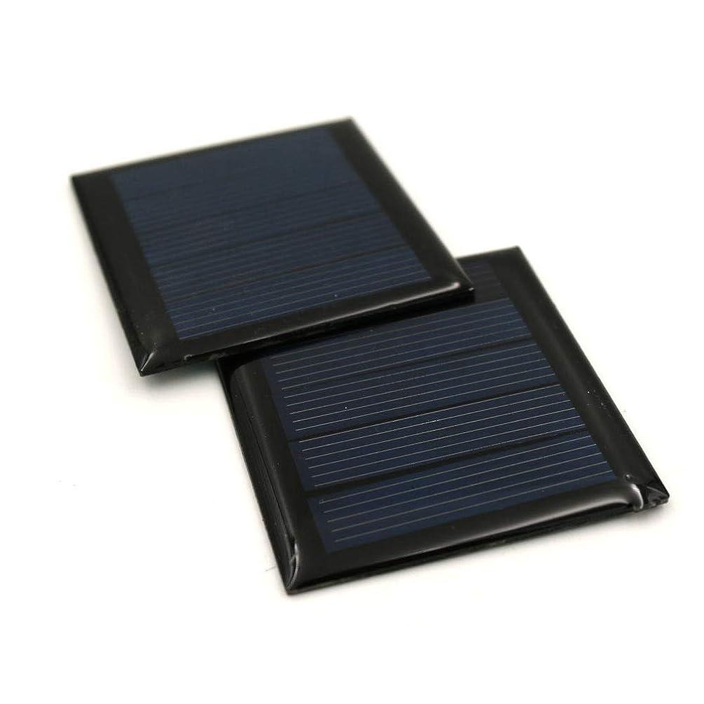 信条流出何十人もソーラーパネル 2個/ロット太陽電池エポキシ多結晶シリコンDIYバッテリー電源充電モジュールの小型ソーラーパネルのおもちゃ YXJJP