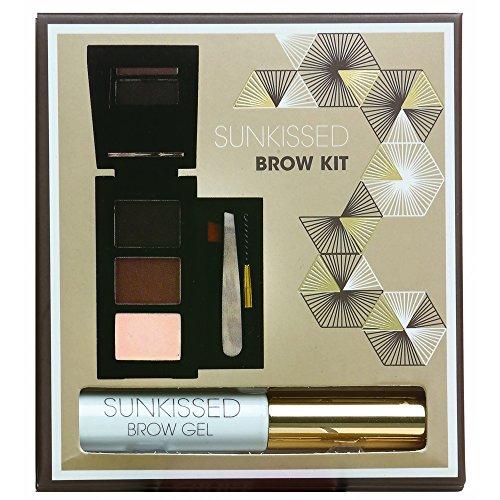 Rainbow Cosmetics Kit de Maquillage Sourcils Brow Kit Sun Kissed 7 Pièces