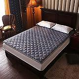 mattress WANGTX Colchón de futón, colchón Plegable portátil, colchón Doble Individual, Adecuado para el hogar, Dormitorio de Estudiantes, colchón de Camping para Invitados/B / 1.8×2M