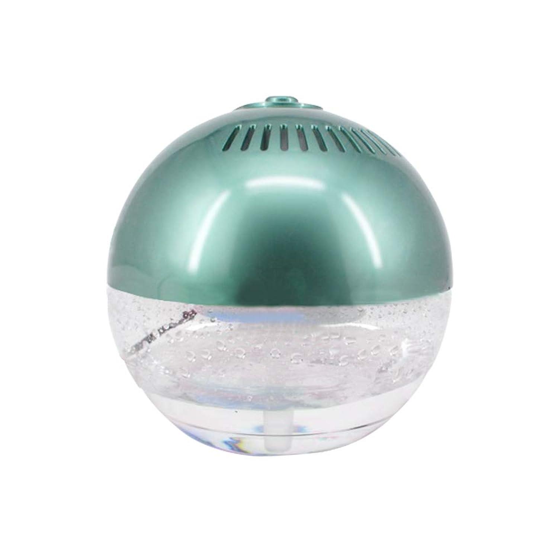 空気洗浄機 アロマ 加湿器 大容量 ディフューザー 7色変化 リラックス 癒し お家 オフィス 12畳-18畳 グリーン