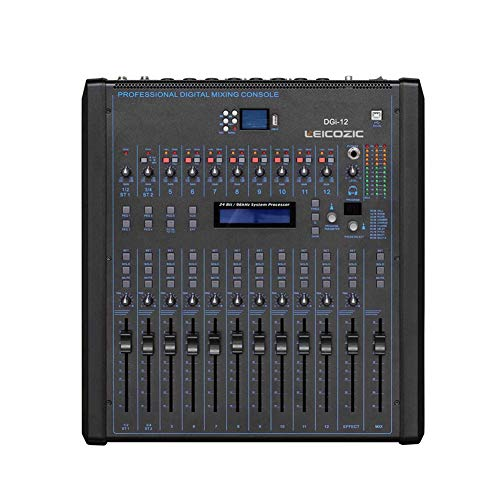 Mezclador Digital De 12 Canales DGI12 Montaje En Rack Consola De Sonido...