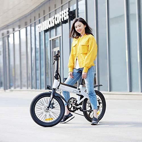 HAINIWER HIMO C20 Klapp-Elektrofahrrad, 25 km/h Elektromoped-Fahrrad, 250-W-Motor-E-Bike für bürstenlose Motorräder für Erwachsene, Tragfähigkeit 100 kg