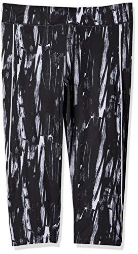 Skiny Damen SK86 3/4 Laufhose Sport Leggings, Grau (Black Coal 1732), W(Herstellergröße: 38)