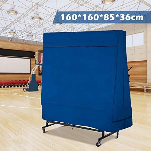HXIANG Ping-Pong Tafel Stofhoezen Oxford Waterdichte Outdoor Regen Wind Zon UV Resistant Tennis Tafel Opslag Cover Met Opbergtas