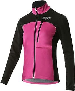 Mysenlan Womens Windproof Fleece Thermal Jacket Running Cycling Sports Bicycle Jackets, Warm Windbreaker Coats for Women