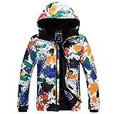 メンズ スノーボードウェア スノボウェア カラフル スキーウェア 防風防寒防水 ジャケット アウトドア スボッツ #001N XL